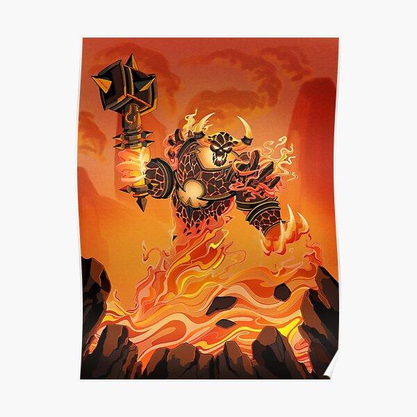 Ragnaros Poster