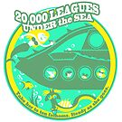 20,000 Leagues Under the Sea (bright yellow, green) by clockworkmonkey