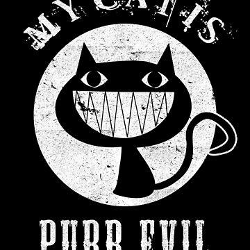 Evil Cat Design by RazorDezign