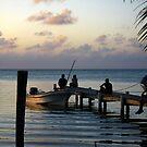 Evening Belize by HeatherEllis
