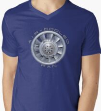 Air Cooled Fan  V-Neck T-Shirt