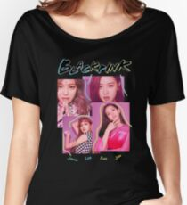 BLACKPINK - TOUR MERCH (REVISED) Women's Relaxed Fit T-Shirt
