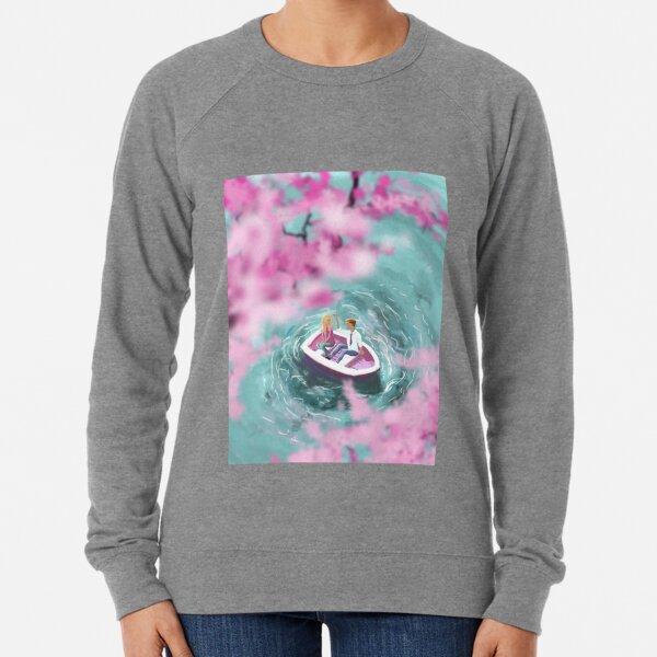 Cherry Blossom Romance Lightweight Sweatshirt