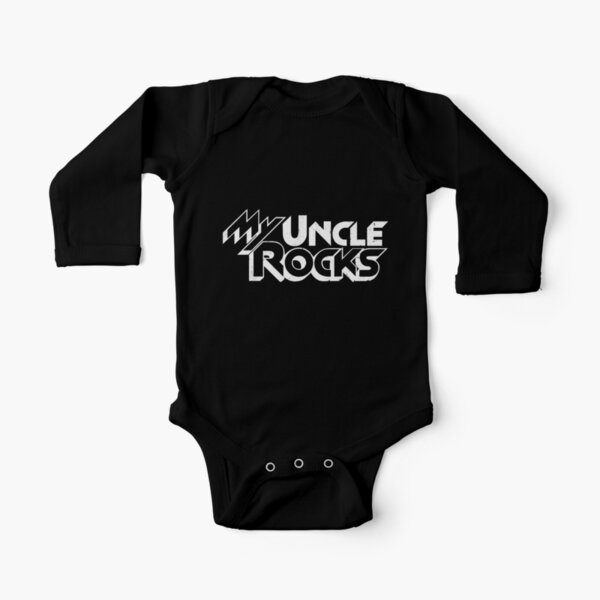 Girls Long Sleeve Baby Vests for Boys I Listen to Reggae Music With My Uncle