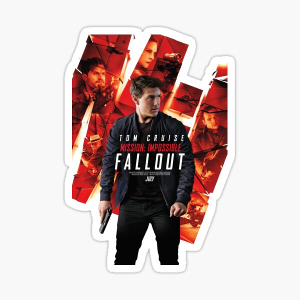 Mission: impossible fallout Sticker