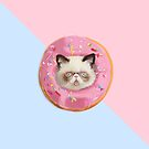 «Persian Cat Strawberry Donut» de Lostanaw