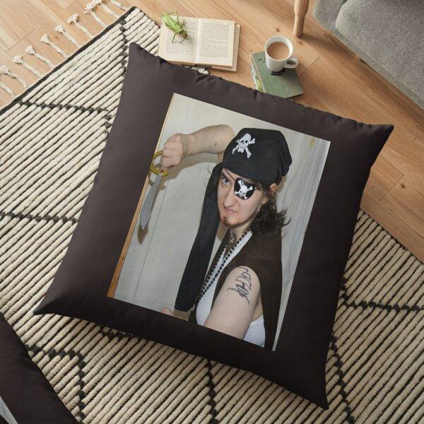 Pirate De Leon Floor Pillow