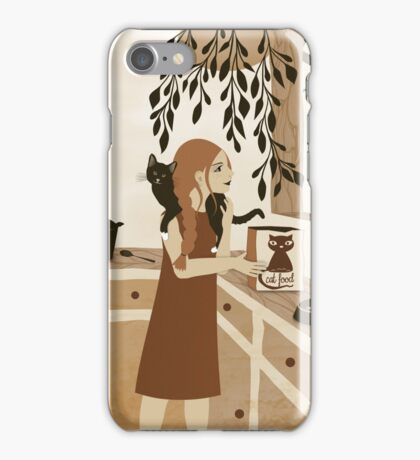 cat food iPhone Case/Skin