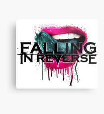 falling in reverse lips Metal Print