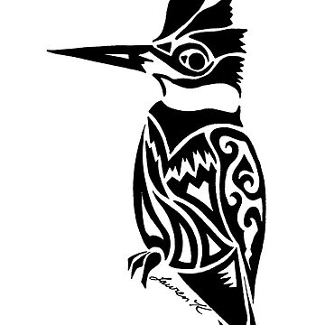 Belted KingFisher Design  by KitayamaDesigns