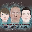 Mein Name ist menschlich von retr0babe