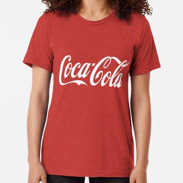 Coca Cola Logo Tri-blend T-Shirt