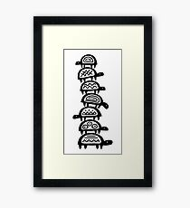 It's turtles all the way down Framed Print