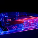 Red and Blue Stapler by bubblebat
