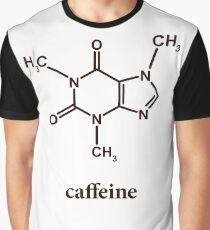 Caffeine Molecule Graphic T-Shirt