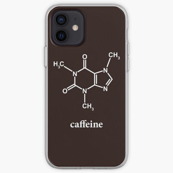 Caffeine Molecule iPhone Soft Case