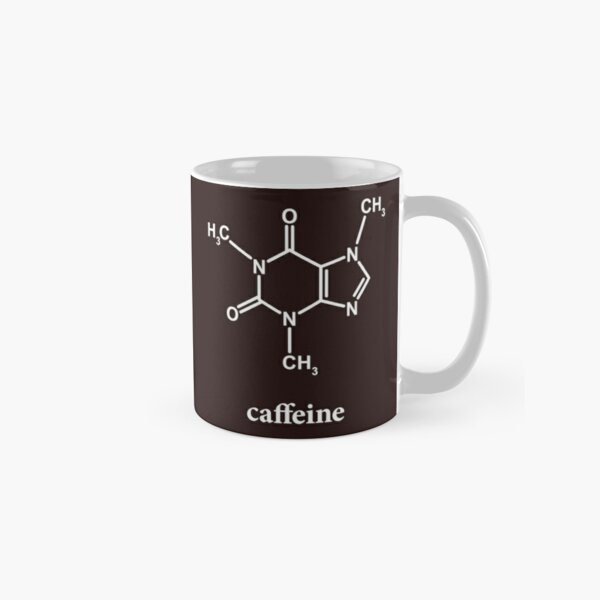 Caffeine Molecule Classic Mug