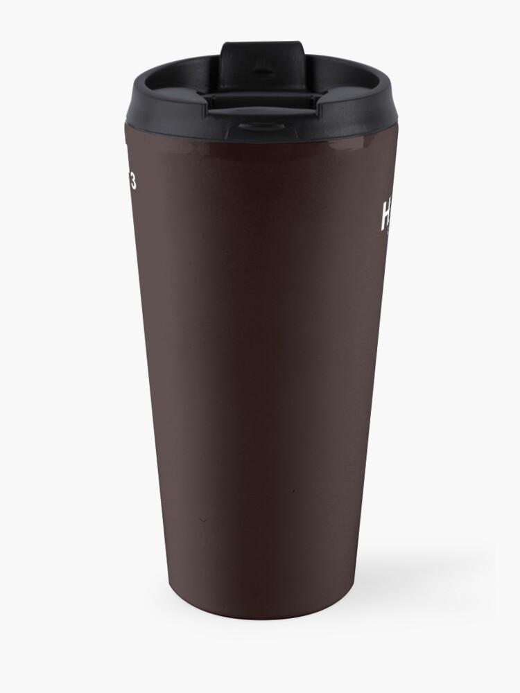 Alternate view of Caffeine Molecule Travel Mug