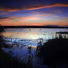 Sunset and Blue by Brian Carey