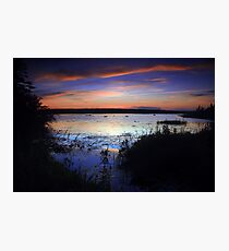 Sunset and Blue Photographic Print