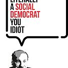I'm Literally A Social Democrat, You Idiot by Robin Wilde