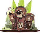 «cafetera de mierda santa» de craftipixel