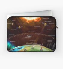 European Space Agency (ESA) — Weather ⛔ HQ quality Laptop Sleeve
