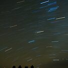 Easter Island: Anakena Star Trails by Darren Newbery