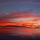 Swan River Sunset (Multi Row Panorama)  by EOS20