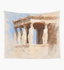 Acropolis of Athens Wall Tapestry