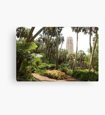 The tower at Bok tower gardens, lake winter, Florida Canvas Print