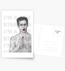 Are you a five star man? Postcards