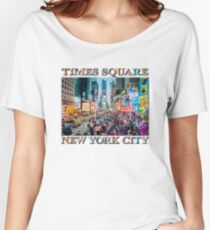 Time Square Tourists Women's Relaxed Fit T-Shirt