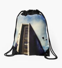 Electricity building Drawstring Bag