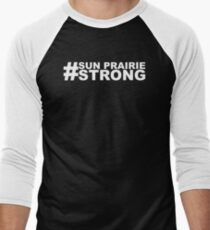 sun prairie strong Men's Baseball ¾ T-Shirt