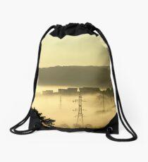 urban landscape Drawstring Bag