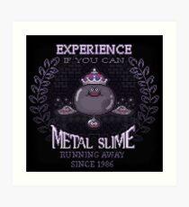 Slime Metal Art Print