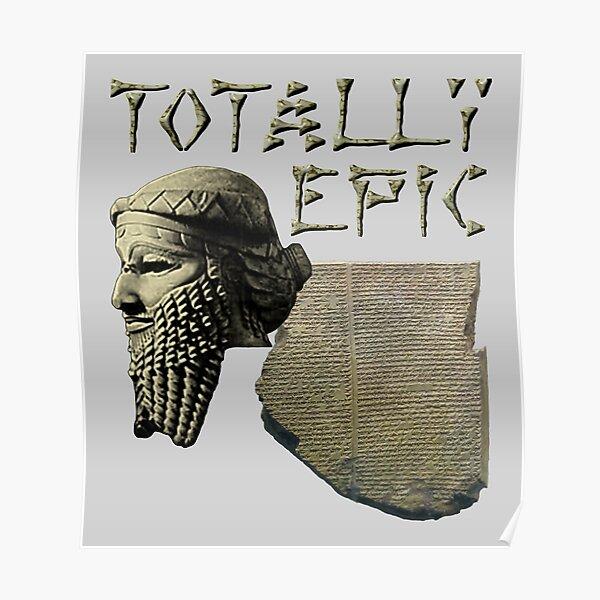 Gilgamesh: Totally Epic - Color Poster