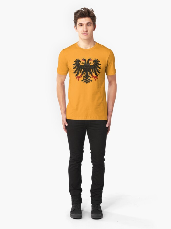 Alternate view of German Black Eagle of the Holy Roman Empire, anno 1440 Slim Fit T-Shirt