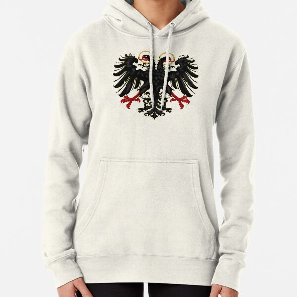 German Black Eagle of the Holy Roman Empire, anno 1440 Pullover Hoodie