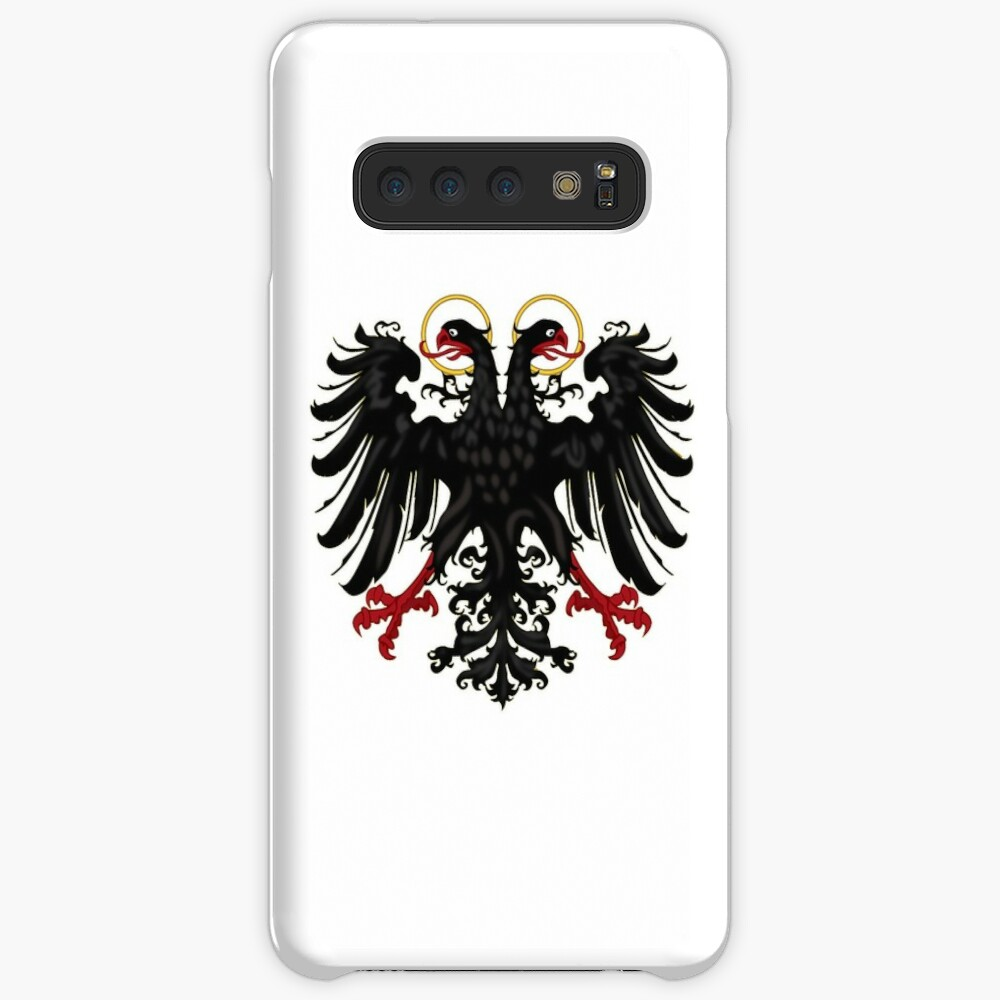 German Black Eagle of the Holy Roman Empire, anno 1440 Case & Skin for Samsung Galaxy