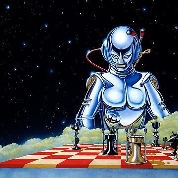 David Rowe - The Chessplayer by RetroTrader