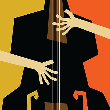 Jazz Double Bass by designkitsch