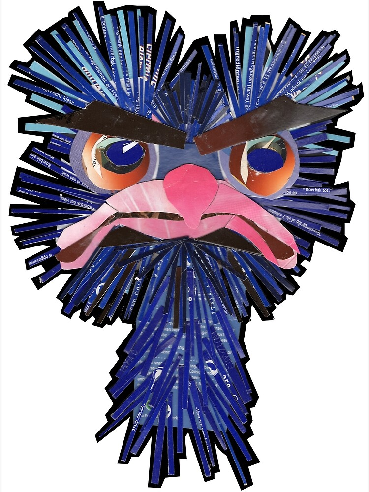 Angry Ostrich by Packeredo