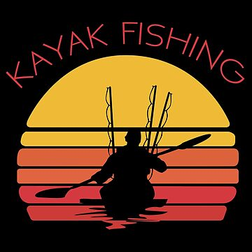 Kayak Fishing Angling Design- Kayak Fishing by kudostees