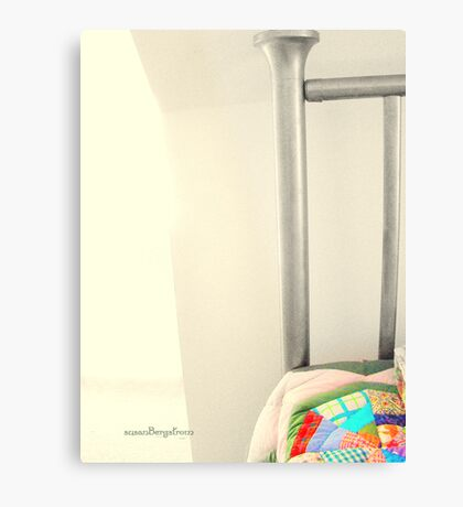 Quilted Metal Print