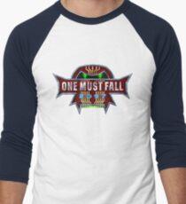 One Must Fall 2097 Men's Baseball ¾ T-Shirt