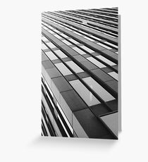 office tower infinity Greeting Card