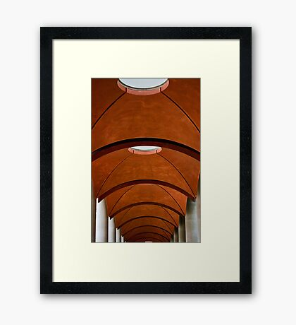 Red Arches! Framed Print