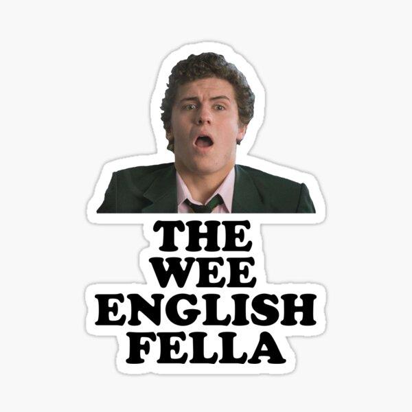 Derry Girls - Wee English Fella Sticker